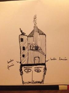 une maison rock par Selim